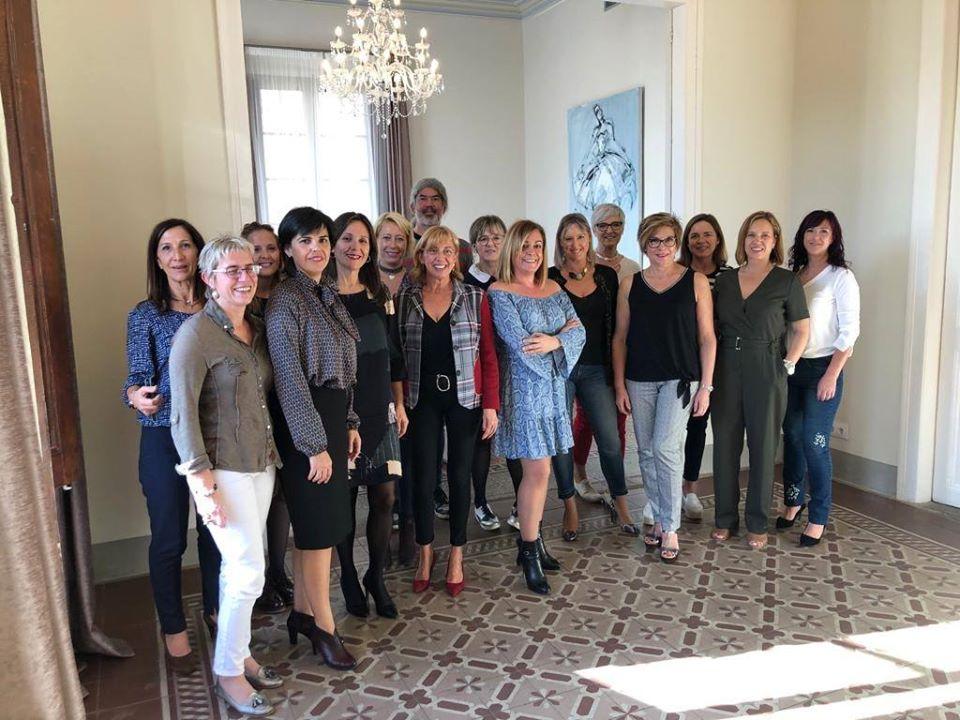 Foto de grup trobada d'octubre