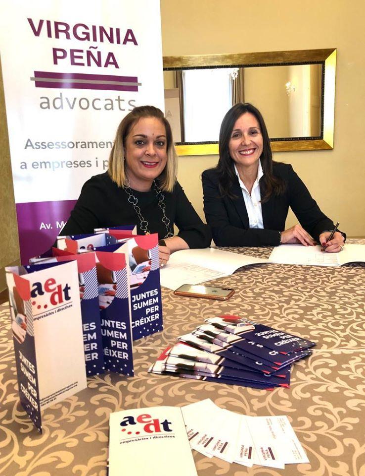 Patrocinis i col·laboracions, Virginia Peña Advocats