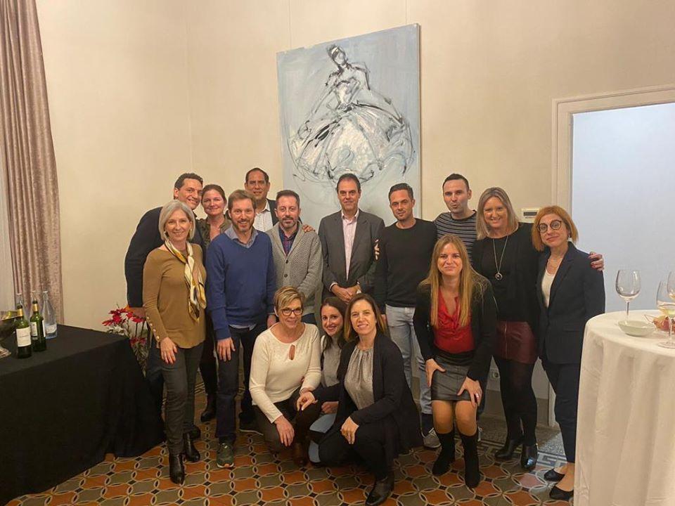 Foto de grup del taller de coaching sistèmic