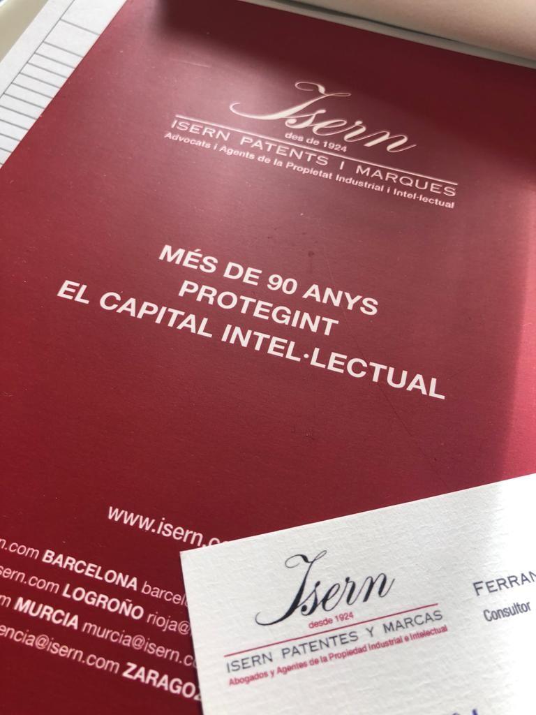 Materials Isern Patentes y Marcas Trobada de gener a la Casa Joan Miret