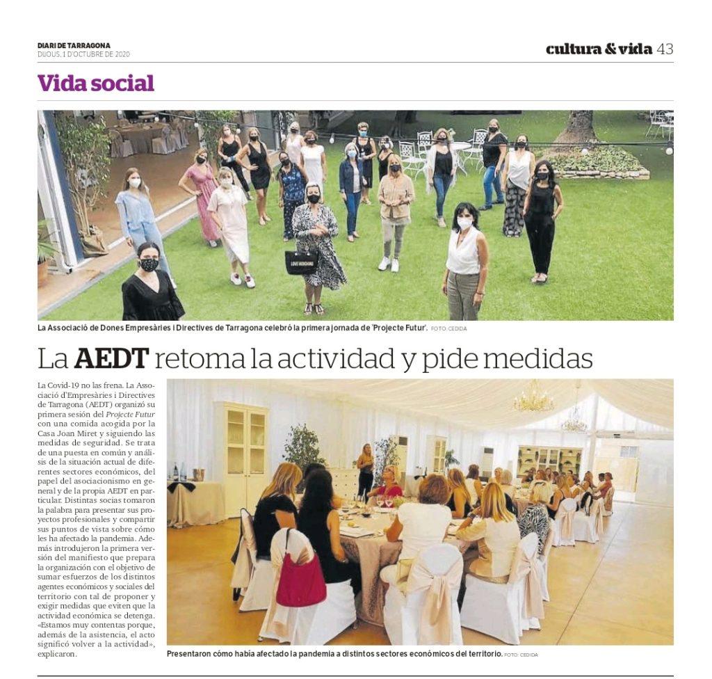 Article al Diari de Tarragona