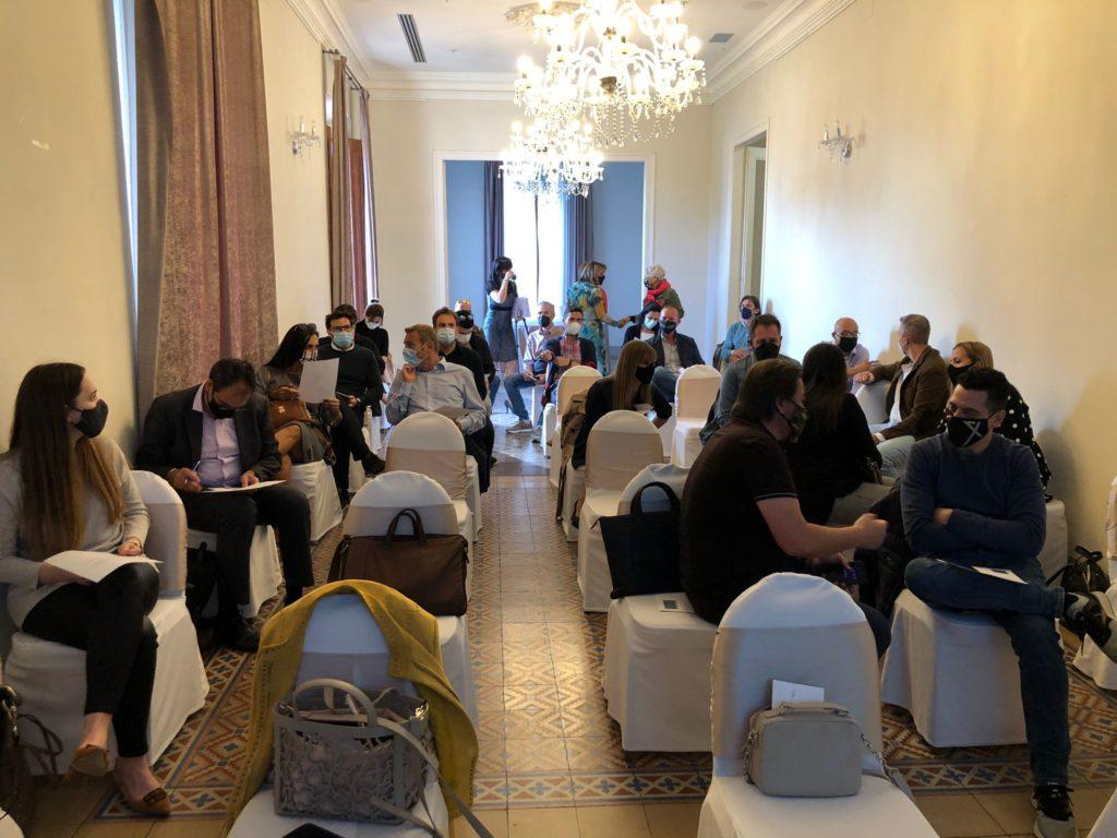 Networking de l'AEDT a la Casa Joan Miret